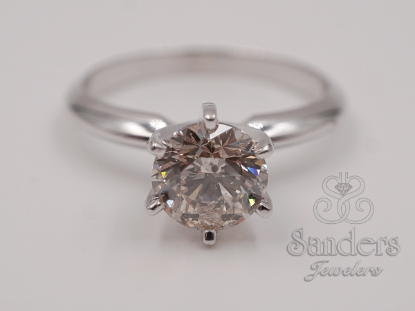 Bridal Jewelry - Diamond Solitaire Engagement Ring