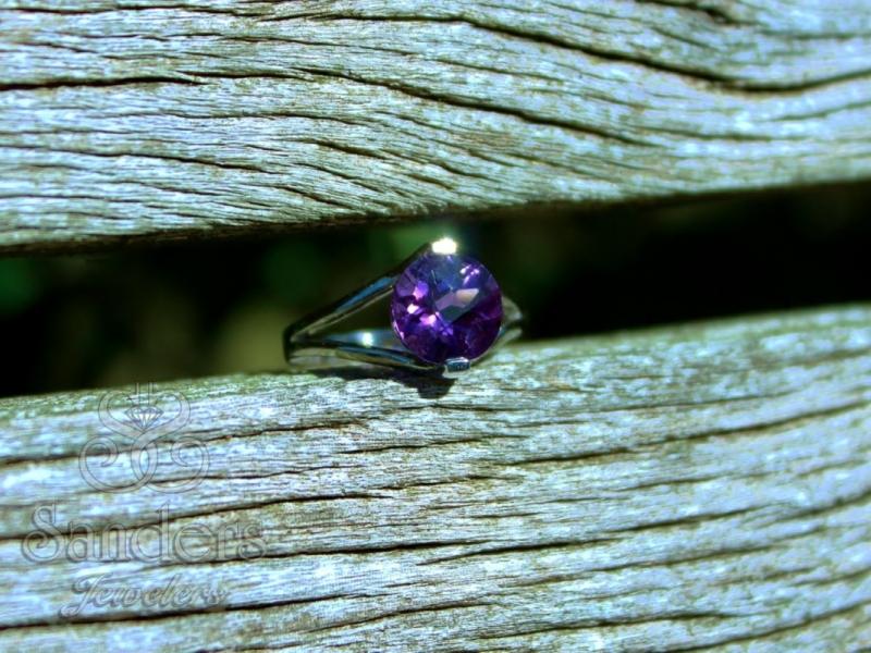 Rings - Cathedral Amethyst Ring - image #2