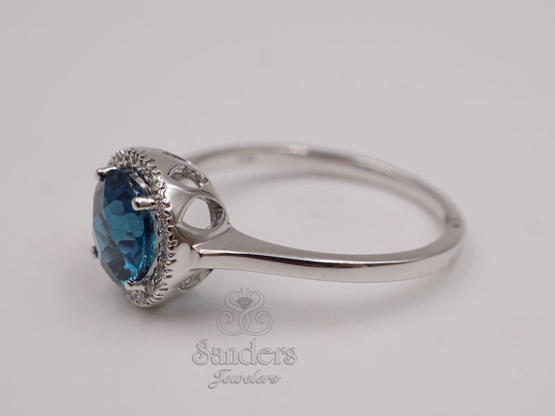 Rings - London Blue Topaz Ring - image #2