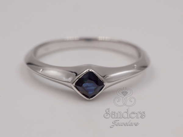 Rings - Sapphire Stacker Ring