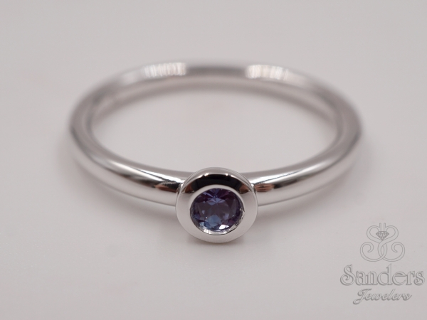Rings - Created Alexandrite Stacker Ring