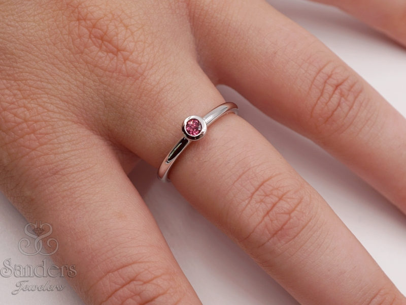 Rings - Tourmaline Stacker Ring - image #2