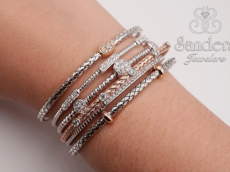 Bracelets - Diamond Bangle - image #2