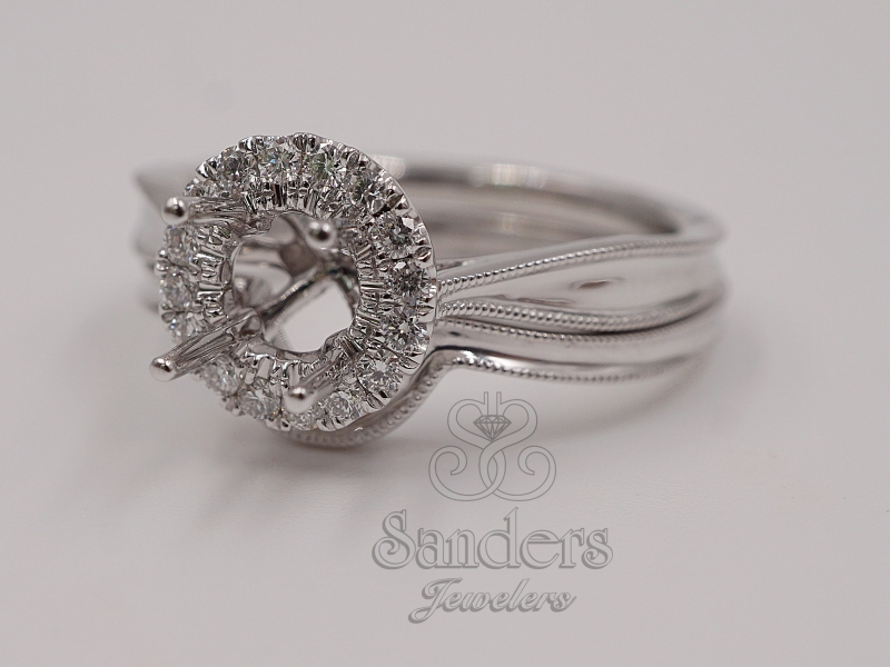 Bridal Jewelry - Contoured Wedding Band - image 3