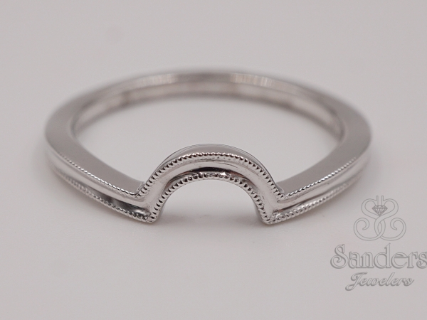 Bridal Jewelry - Contoured Wedding Band