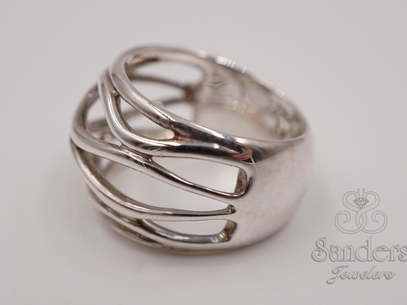 Rings - Wavy Wires Band - image #2