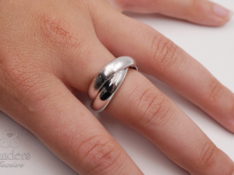 Rings - Diamond Dust Rolling Ring - image #2