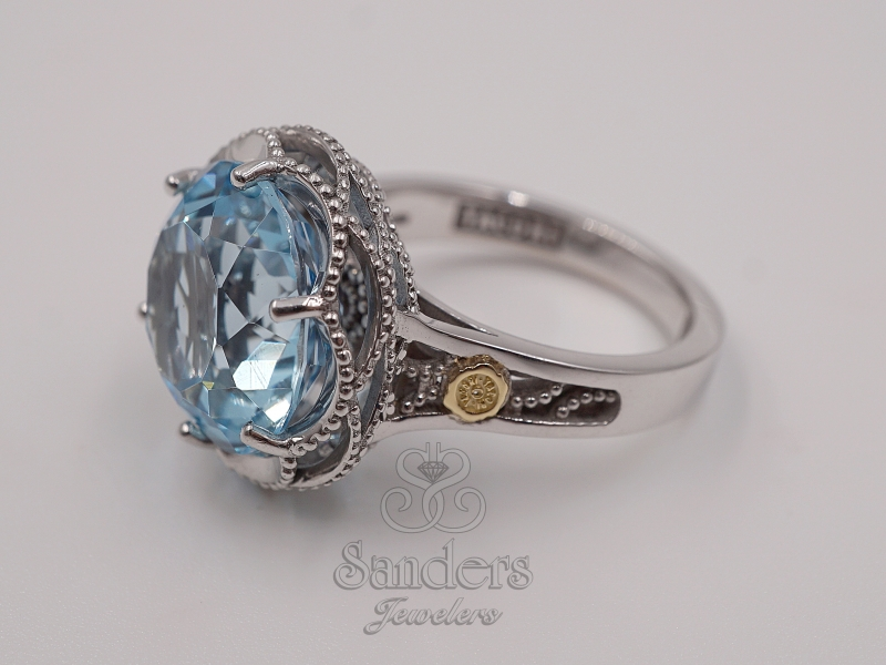 Rings - Blue Topaz Ring - image #2