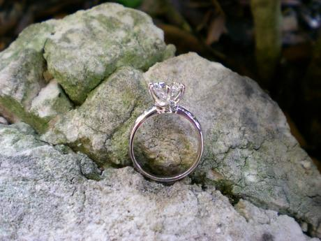 Sanders Jewelers Custom Designs - Diamond Solitaire - image #2