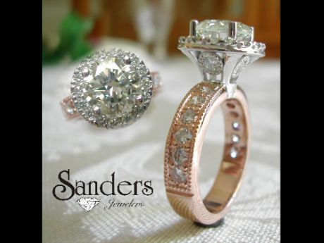 Sanders Jewelers Custom Designs - Rose Gold - image #2