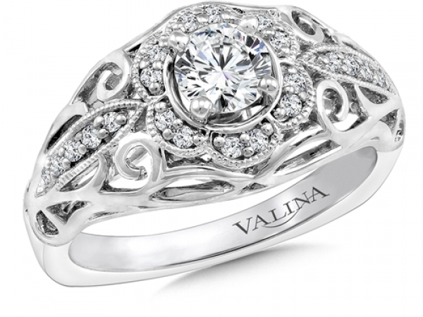 Bridal Jewelry - Diamond Accented Ring