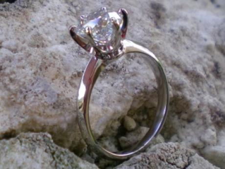Sanders Jewelers Custom Designs - Diamond Solitaire