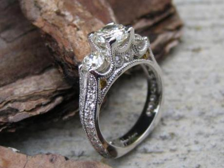 Sanders Jewelers Custom Designs - Diamond Ring - image #2