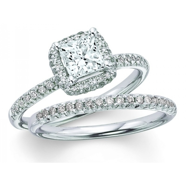 Engagement Ring - 14K 1.25TCW DIA BRIDAL SET (.75CTR)