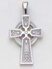 Sterling Silver Celtic Cross Crosses - Sterling Silver Celtic Cross Crosses