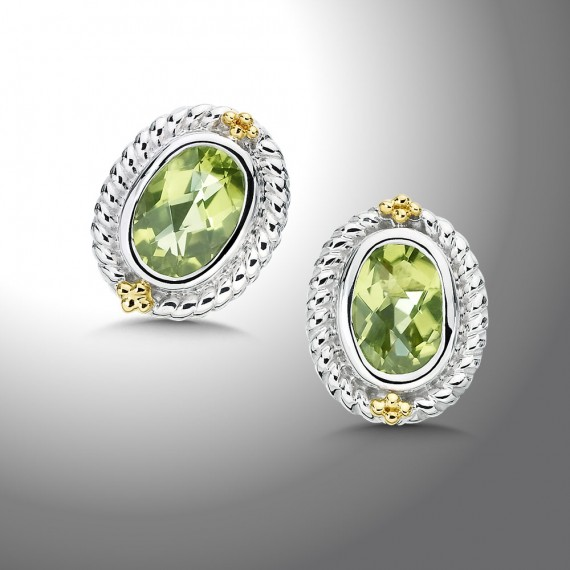 Earrings - SS Peridot Earrings