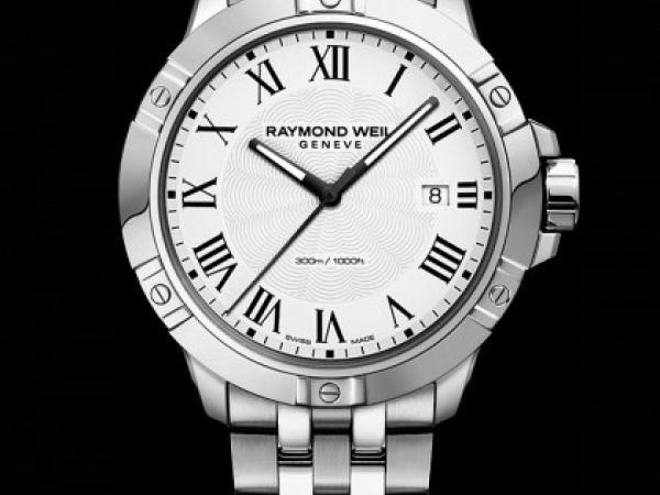 Watch - Gents Tango Stainless Steel White Dial Watch
