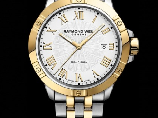 Watch - Gents Tango Two Tone White Dial Watch