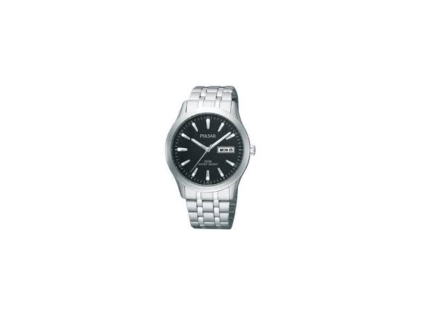 Watch - Rd Blk Face Gents Pulsar Watch