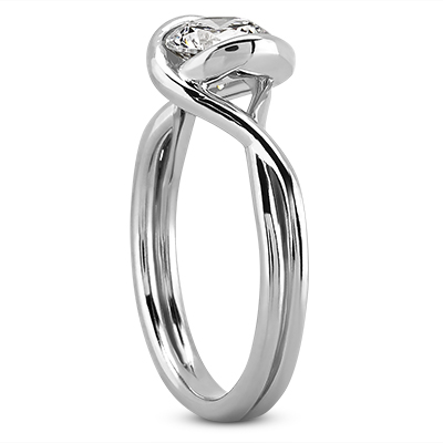 Solitaire Engagement Rings - Solitaire Rings - image #2