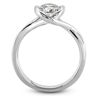 Solitaire Engagement Rings - Solitaire Rings - image #3