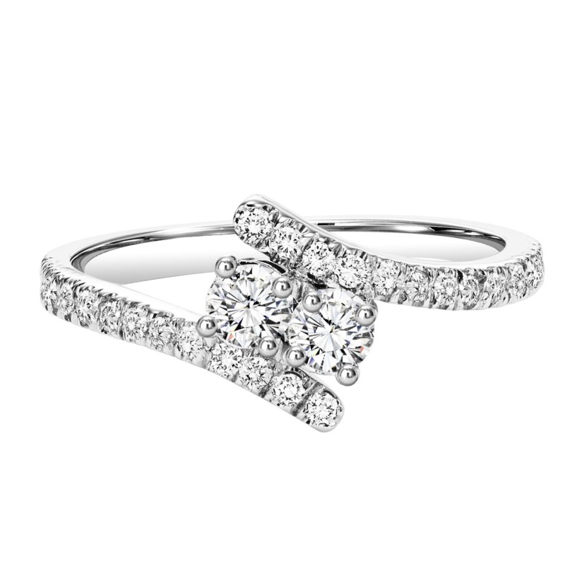STERLING AND DIAMOND RINGS -