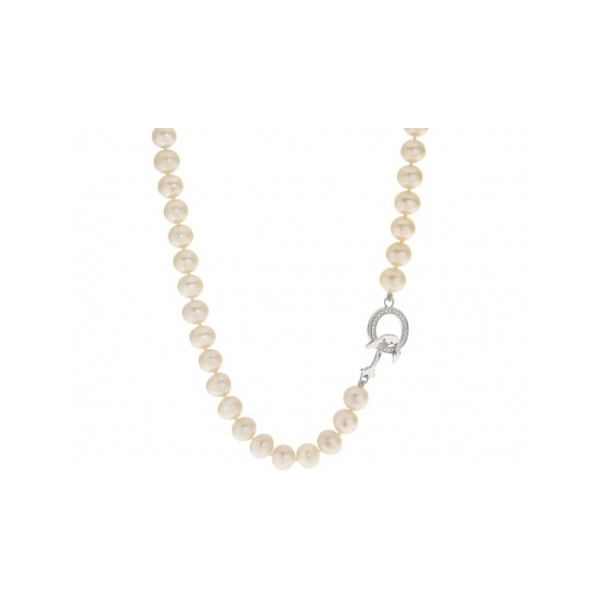 STERLING SILVER/PEARL NECKLACES - 24