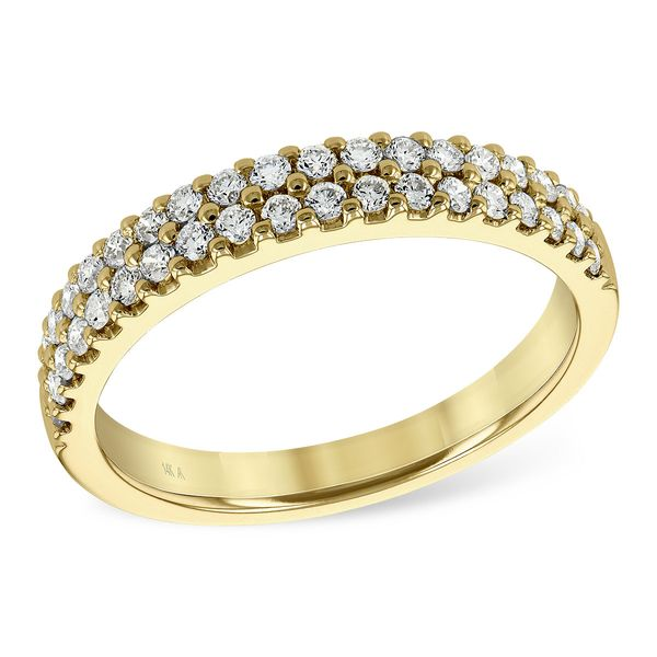 14KT Gold Ladies Wedding Ring by Allison Kaufman