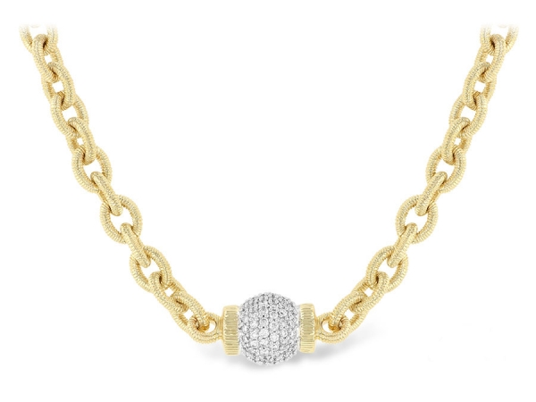 14KT Gold Necklace - NECKLACE 1.27 TW