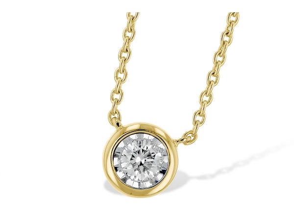 14KT Gold Necklace - NECK .15 BR