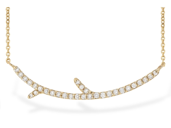 14KT Gold Necklace - NECK .19 TW
