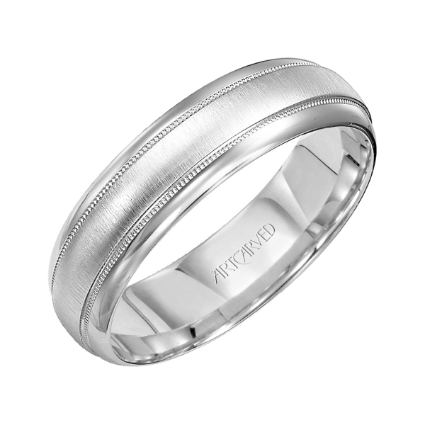 Wedding Bands - 10k White Gold  Wedding Band