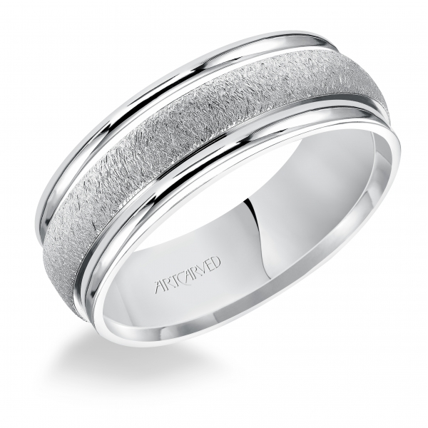 Wedding Bands - 14k White Gold  Wedding Band