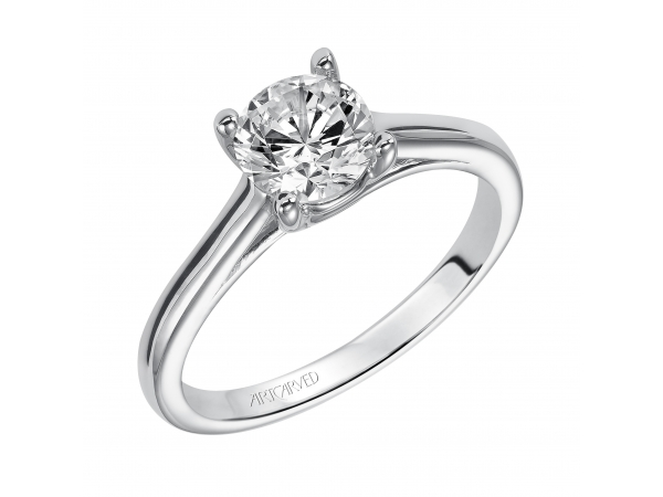 ABBY - Diamond Solitaire Engagement Ring. PRICES REFLECTED ARE A STARTING RANGE; ACTUAL RING COST MAY VARY. PRICES BASED ON A GOLD MARKET PRICE OF APPROXIMATELY $1,150. CALL FOR TODAY'S EXACT COST. AVERAGE AVAILABILITY IS 2-3 WEEKS, CERTAIN CUSTOM SIZES OR METALS MAY TAKE FROM 3-4 WEEKS.