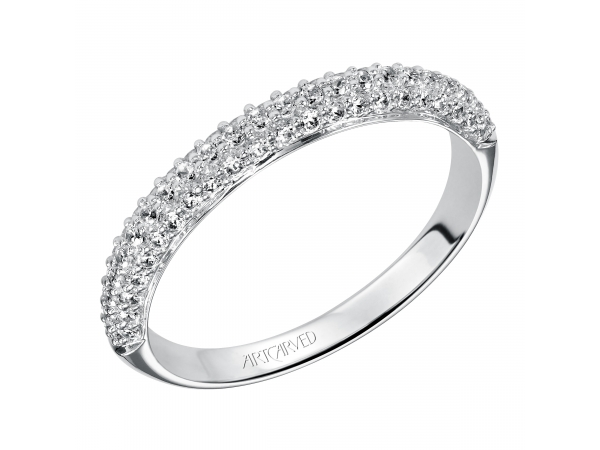 33-V9130W Artcarved Diamond Anniversary Band by ArtCarved