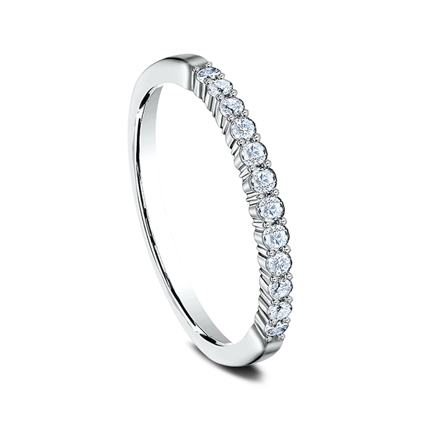 Men's Wedding Bands - Diamond Ring - image 2