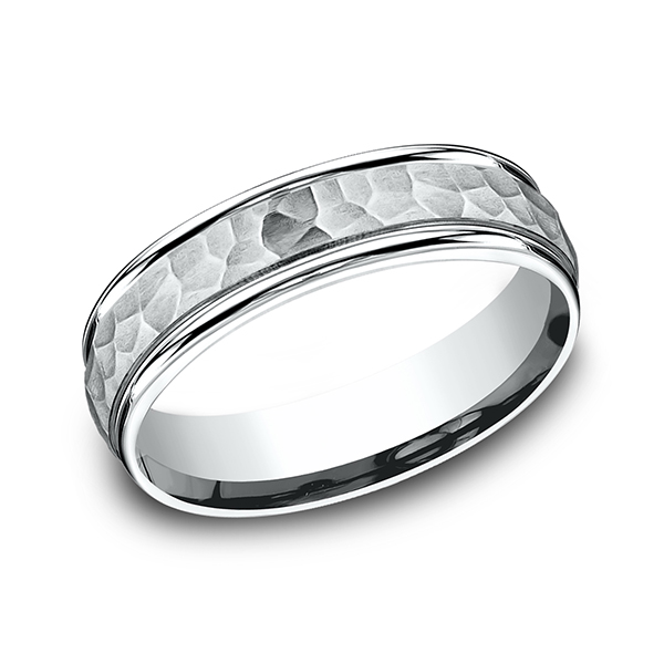 Wedding Bands - Comfort-Fit Design Ring