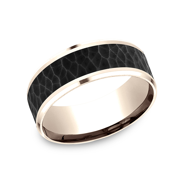 titanium wedding mens rings s satin black fit men all comfort band finish