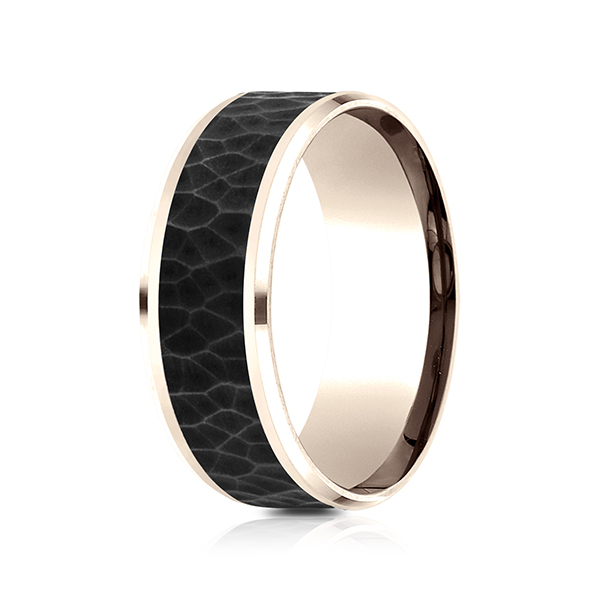 curved gold amore antwerp wedding white comfort fit rings product traditional di band