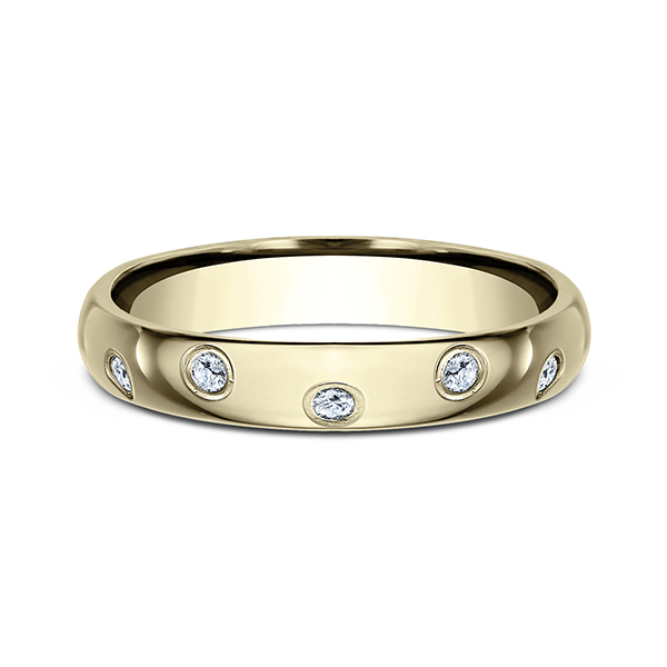 Wedding Bands - Comfort-Fit Diamond Ring