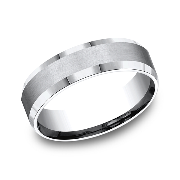Cobalt Comfort-Fit Design Ring by Forge