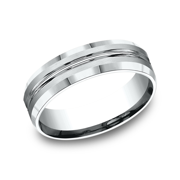 Wedding Bands - Comfort-Fit Design Wedding Ring