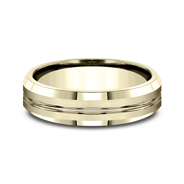Wedding Bands - Comfort-Fit Design Wedding Ring - image 3