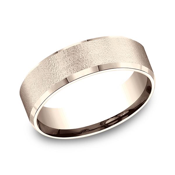 Gold - Comfort-Fit Design Wedding Band