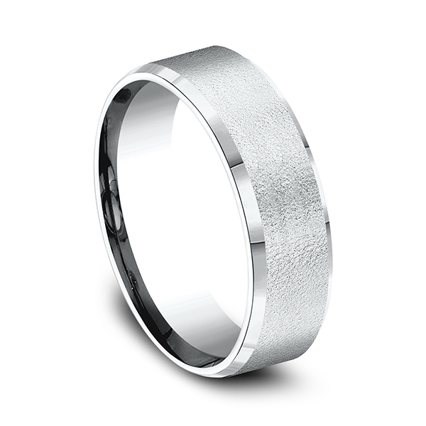Gold - Comfort-Fit Design Wedding Band - image #2