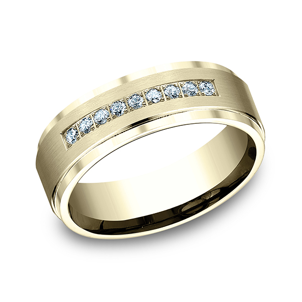 Wedding Bands - Diamond Ring - image 3