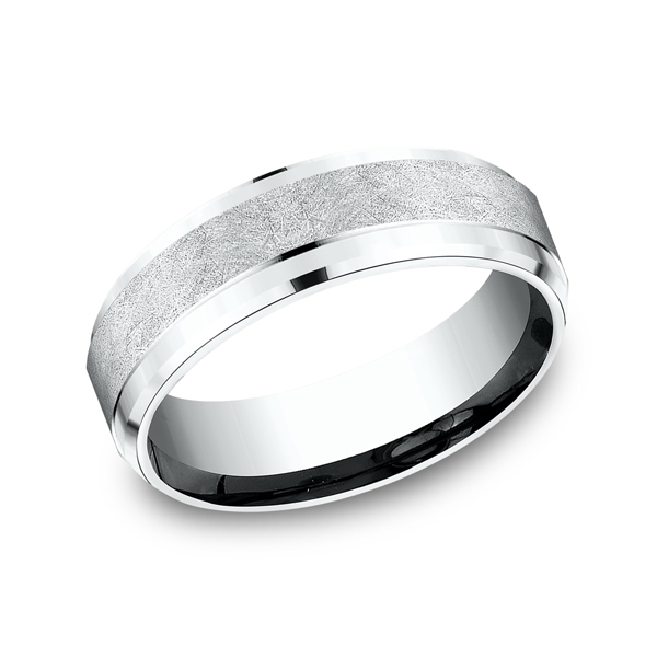 Men's Wedding Bands - Comfort-Fit Design Wedding Ring