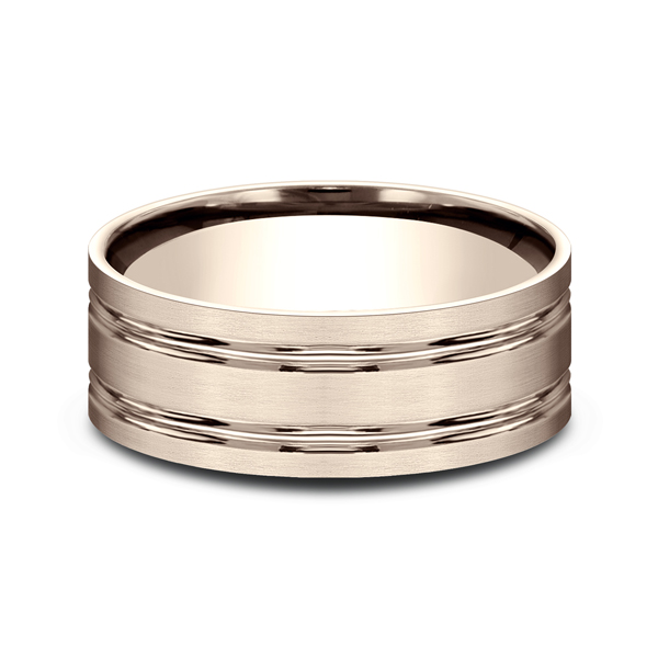 Wedding Bands - Comfort-Fit Design Wedding Ring - image #3