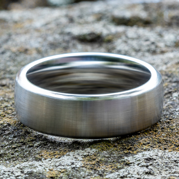 Wedding Bands - Cobalt Chrome Comfort-Fit Wedding Band - image 4