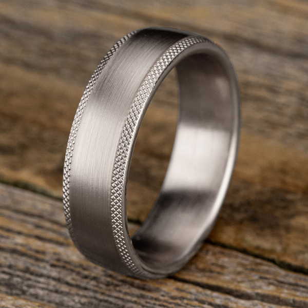 Wedding Bands - Comfort-Fit Design Wedding Band - image #4